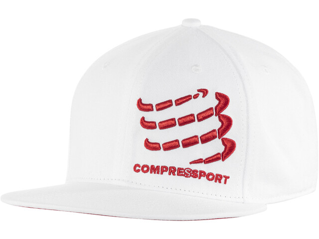 Compressport Flat Cap white